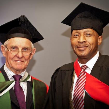Prof David Ownes Dr Mopeli Mohale